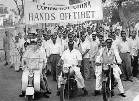 Demo gegen China